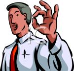 "M. Clipart : ""littéralement du feu de Dieu"" (gag)"