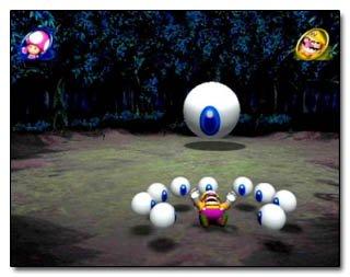 Peut-être que Mario Party 8 contient une scène hallucinée du futur ou Wario doit lutter seul et en vain contre King Boo ? Horrible, horrible futur...