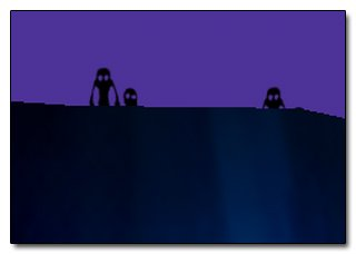 ... Et il y a des créatures ultra flippantes au fond des décors de Super Mario Galaxy...